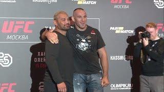 UFC в Москве. Бокс ТВ