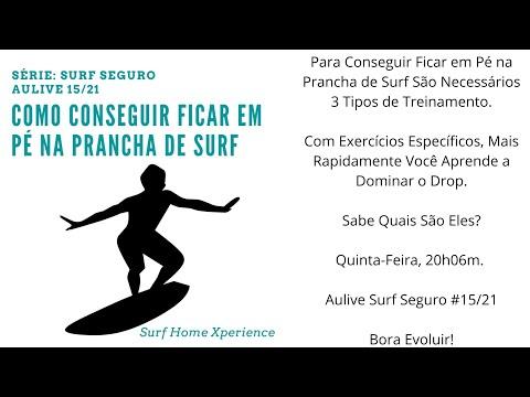 Como Conseguir Ficar em P na Prancha de Surf I Srie Surf Seguro #15/21