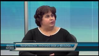 La presidenta reseña el simposio en el programa Sistema TV Informa