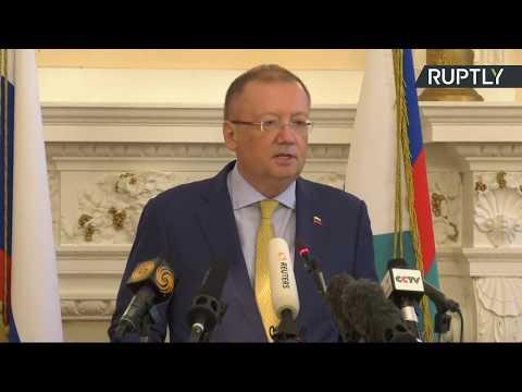 LIVE: Russian ambassador to the UK Alexander Yakovenko holds presser