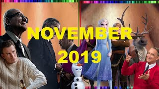 Marriage Story, Waves, The Irishman | November 2019 - Monthly Movie Reviews