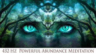 🎧 432 Hz Powerful Abundance Meditation | Prosperity Luck & Wealth | Simply Hypnotic