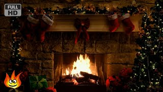 Christmas Fireplace Scene with Crackling Fire Sounds (6 hours) - Download this Video in MP3, M4A, WEBM, MP4, 3GP