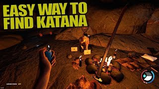 EASY WAY TO FIND KATANA   The Forest   Let's Play Gameplay   S13E03