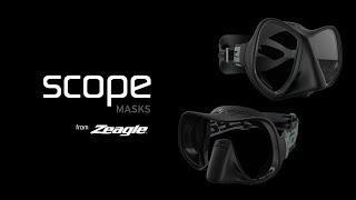 Маска для подводной охоты и дайвинга фирмы ZEAGLE SCOPE Duo от компании МагазинCalipso dive shop - видео