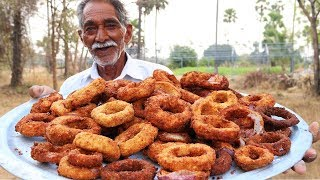 Cheese Onion Rings Recipe | Quick and Easy Crispy Cheese onion rings | Grandpa Kitchen
