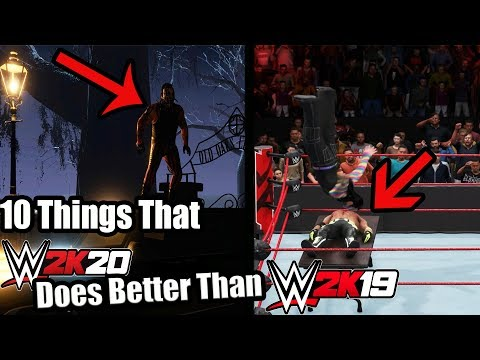 10 Things That WWE 2K20 Does Better Than WWE 2K19