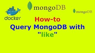 """How to query MongoDB with """"like"""""""
