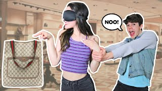 Buying EVERYTHING My SISTER TOUCHES Blindfolded **FUNNY 24 Hour Challenge** | Jentzen Ramirez