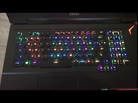 Keyboard Beleuchtung