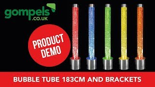 Product Demo - Bubble Tube 183cm And Brackets