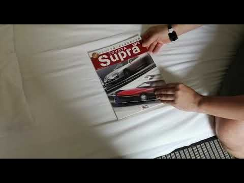 Toyota Supra Magazin aus Japan