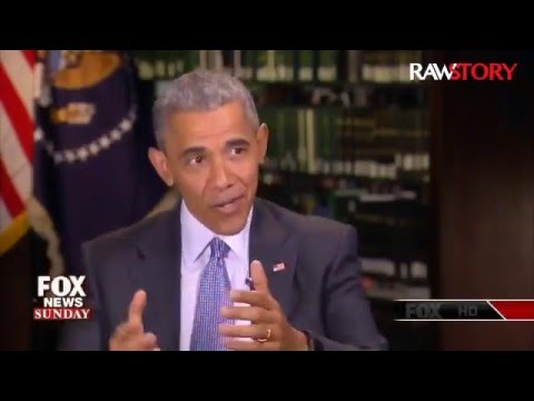 Obama tells Fox News: 'Republicans have their own TV station'