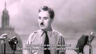 """Discurso De Charlie Chaplin Em """"O Grande Ditador"""""""