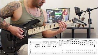 'Stricken' by Disturbed - Guitar Playthrough w/tabs (Chris Zoupa)