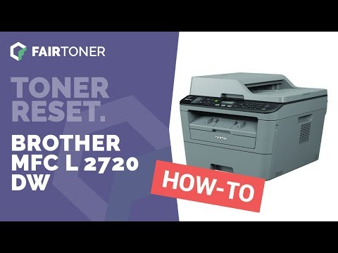 Anleitung: Brother MFC L 2720 DW Toner Reset ✅🛠