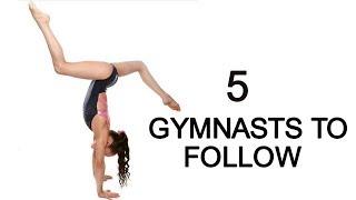5 gymnasts to follow on Instagram!!