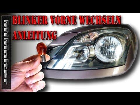 Blinker vorne ausbauen - tauschen - wechseln / Renault Koleos. M1Molter
