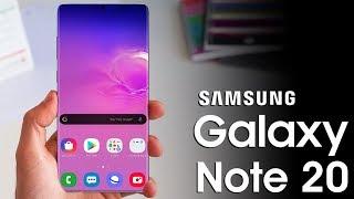 Samsung Galaxy Note 20 - Big Changes!