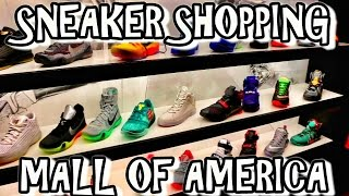 SNEAKER SHOPPING AT THE MALL OF AMERICA