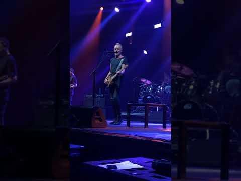 So Lonely - Sting live at Bratislava, 30.6.2019