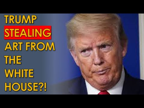 Trump LOOTING White House as he Moves out?!