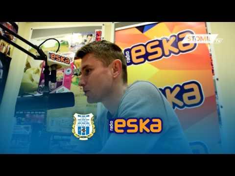 Paweł Głowacki w radiu Eska