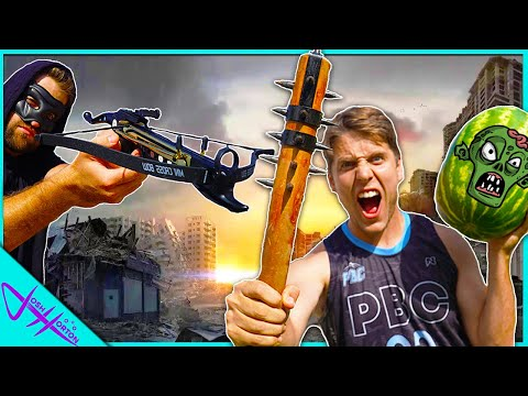 ZOMBIE Weapon TRICK SHOT Challenge! *Apocalypse Training*