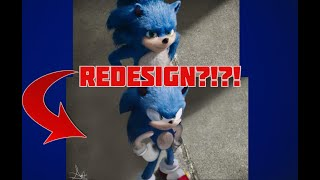 Movie News: Sonic Getting Redesigned!!!