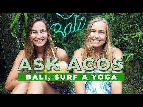 ASK A Cup of Style | Bali, surfování a yoga!