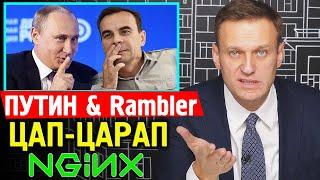 Путин Цап-Царап бизнес. Rambler подал в суд на NginX. Алексей Навальный 2019.