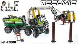 Lego Technic 42080 Forest Machine - Lego 42080 Speed Build
