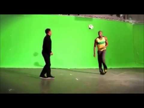 ボルトのサッカー