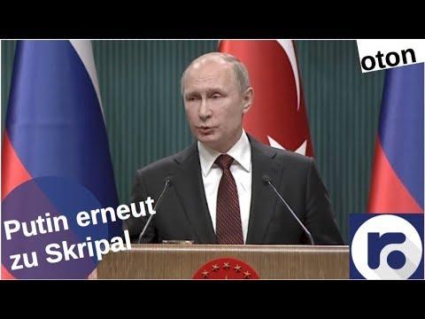 Putin erneut zu Skripal auf deutsch [Video]