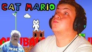 A VILÁG LEGIDEGESÍTŐBB JÁTÉKA | Cat Mario Rage Gameplay