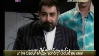 Kral Tv Video Müzik Ödülleri En İyi Özgün Müzik Sanatçısı Ahmet Kaya 1996