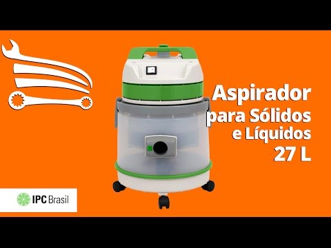 Aspirador para Sólidos e Líquidos 27 Litros 1400W  - Video