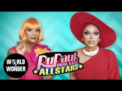 FASHION PHOTO RUVIEW: All Stars 2 Ep 2 with Raja & Raven - RuPaul's Drag Race: Rubber on the Runway