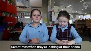 Kids thoughts on their parents' mobile phone use.......Video.