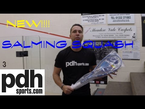 Salming Aero Forza squash racket review by PDHSports.com