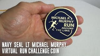 Navy SEAL LT Michael P. Murphy Challenge Coin Unboxing