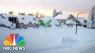 Buffalo In State Of Emergency After Massive Snowfall | NBC News