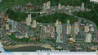 2 hours in 8 Minutes - A Sim City 2013 Speed Build!