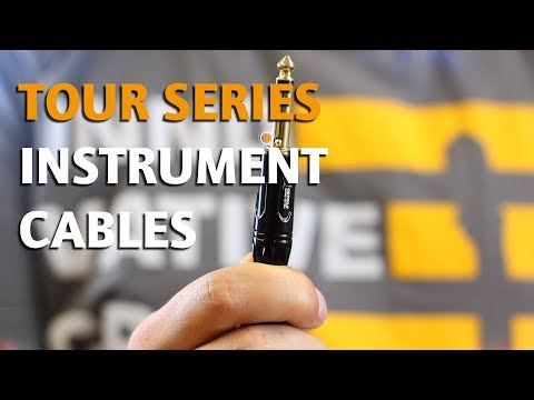 ORTEGA GUITARS | OTCI & OTCIS INSTRUMENT CABLES (TOUR SERIES)