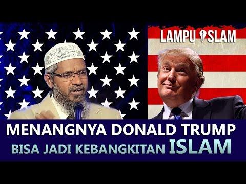 Kemenangan Donal Trump , Rencana Allah Untuk Kebangkitan Islam