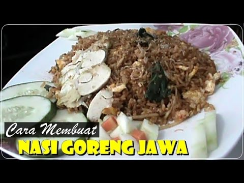 Video Cara Membuat Nasi Goreng Jawa - Resep Masakan Indonesia