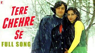 Tere Chehre Se - Full Song | Kabhi Kabhie | Rishi | Neetu | Kishore Kumar | Lata Mangeshkar