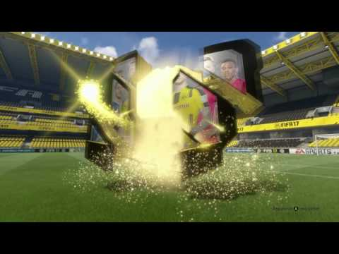 GROSSE ANIMATION DANS MES RÉCOMPENSES MENSUELLES !!! - FIFA 17 PACK OPENING