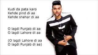 Guru Randhawa: LAHORE Lyrics | Bhushan Kumar | Vee Music | DirectorGifty | T Series