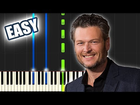 God's Country - Blake Shelton | EASY PIANO TUTORIAL by Betacustic